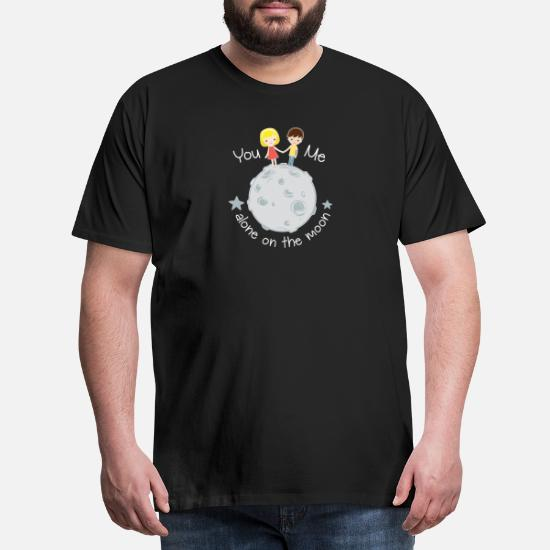 Moon walk with girlfriend moon walk Men's Premium T-Shirt