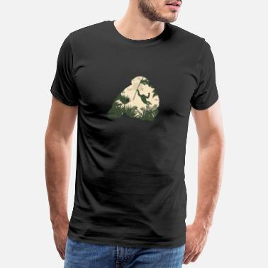 Aber Monkey gorilla jungle bevarelse regnskov gave - Herre premium T-shirt