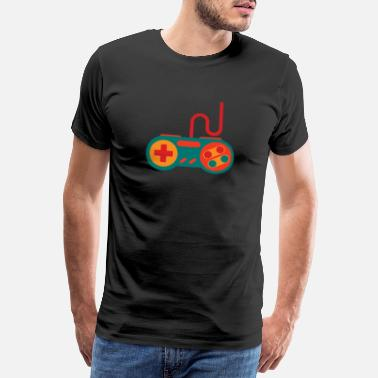 Kabel Gaming Controller for gambling - Herre premium T-shirt