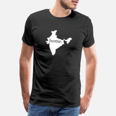 Capital Inde New Delhi cadeau maison - T-shirt Premium Homme