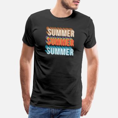 Rio Summer sun beach holiday gift idea - Men's Premium T-Shirt
