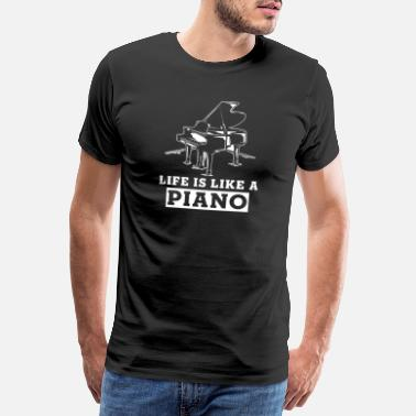 Artsy Piano Music School Piano Gift - Men's Premium T-Shirt