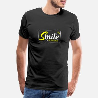 Fødselsdag Gif Fødselsdag Smilte Its Sunnah Muslim And Muhammad Believer Gif - Premium T-shirt mænd