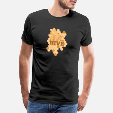 Symbolen Bijenteelt Honey Beekeeper Bee Honey Shirt Saying - Mannen premium T-shirt