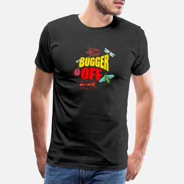 Hipster Insectes - Bugger Off Colorful - Zoo - T-shirt premium Homme