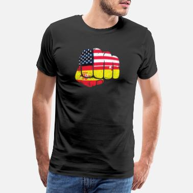Live Your Dreams USA America Spanish Flag - Men's Premium T-Shirt