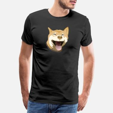 Canine Funny Dogs Happy Dog Graphic - Men's Premium T-Shirt