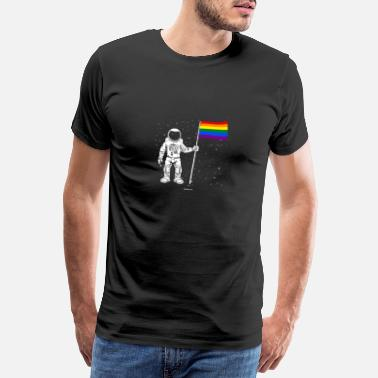 Gay Pride Astronaut LGTB Pride / Gay / Gift - Premium T-shirt mænd