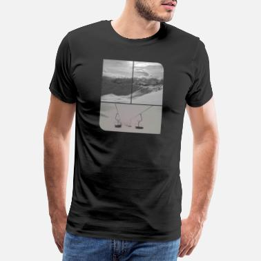 Lawine First Chair - Männer Premium T-Shirt