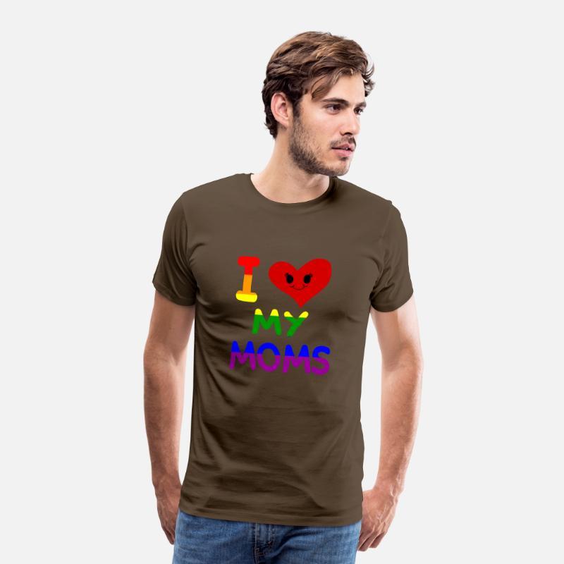 //Gay Pride Due padri//mamme Baby Canotta//T-Shirt