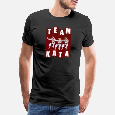 Shotokan TEAM KATA MALE - Premium T-shirt mænd