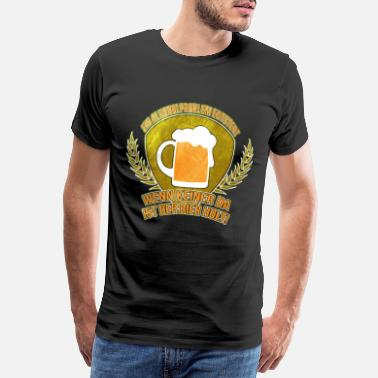 Listen Beer Funny Saying Alcohol Problem Drinking Party - Men's Premium T-Shirt