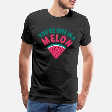 Portugal Vacation sea beach vacation travel summer melon - Men's Premium T-Shirt