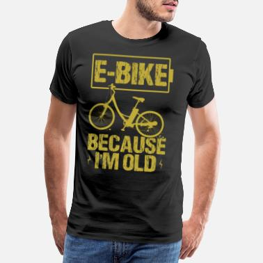 Roadster Bike Bike Ebike Gift Mountain Bike Wheel - Men's Premium T-Shirt