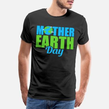Destruction Earth Day / Earth Day future gift idea - Men's Premium T-Shirt
