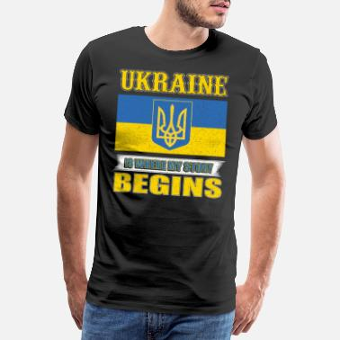 Czech In Ukraine, my story begins - Men's Premium T-Shirt