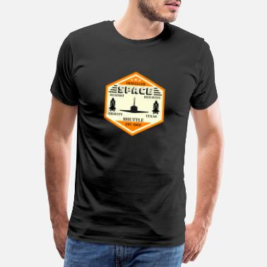 Esa Space Shuttle - Männer Premium T-Shirt