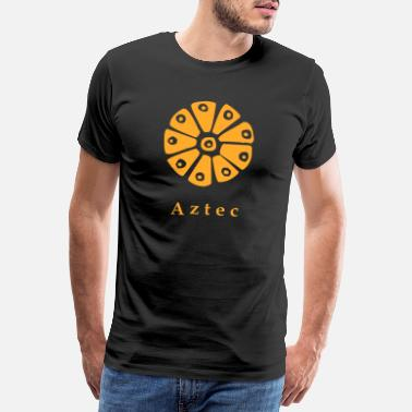 Successful Aztec glyph - Men's Premium T-Shirt