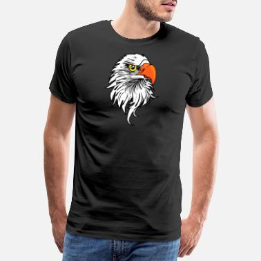 Eagle Head Eagle head eagle gift - Men's Premium T-Shirt