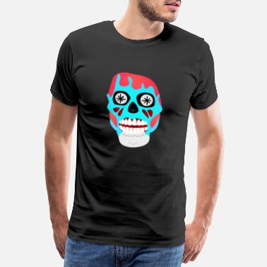 Watch Tv They Live - Skull - Obey Consume Watch TV - Shirt - Männer Premium T-Shirt