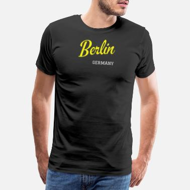 Federal Capital Berlin, Germany - Men's Premium T-Shirt