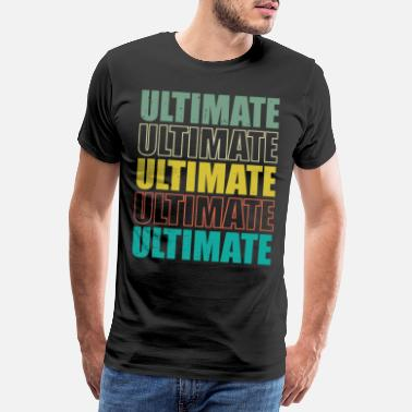 Frisbee Ultimate Frisbee College Sport Studentsport - Premium T-shirt mænd