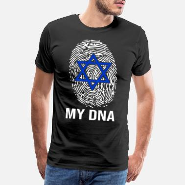 Jewess Judaism Jew Jewess DNA Gift - Men's Premium T-Shirt