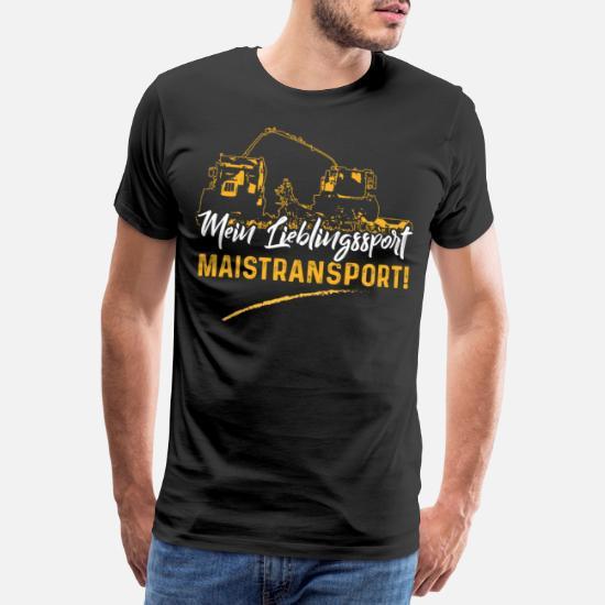 Mein Lieblingssport ist Maistransport f/ür Landwirt Sweatshirt