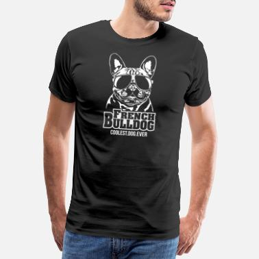 Rassehund FRENCH BULLDOG coolest dog Wilsigns Hundedesign - Männer Premium T-Shirt