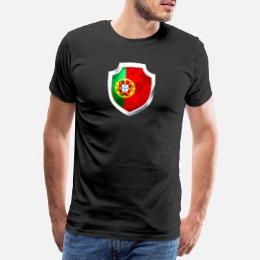 Ronaldo country football portugal - Men's Premium T-Shirt