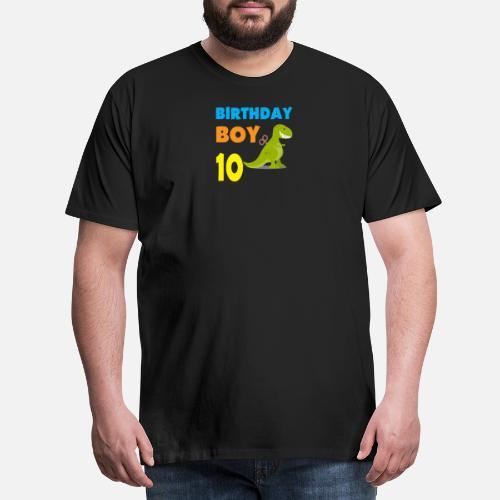 Birthday Boy 10 Years Old Mens Premium T Shirt
