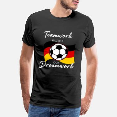 Goalkeeper Football team Football player Football club - Men's Premium T-Shirt