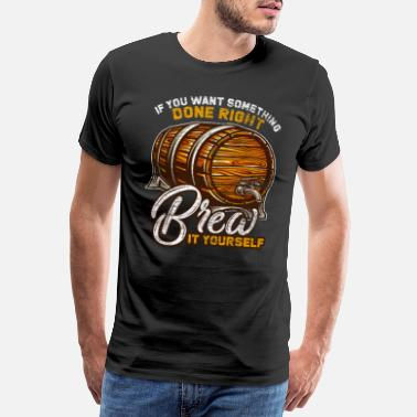 Best Gardener Beer beer keg - Men's Premium T-Shirt