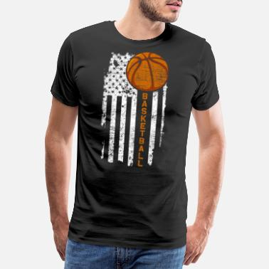 Team Usa USA Basketball - Männer Premium T-Shirt