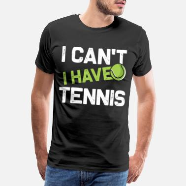 Effort Tennis training - Men's Premium T-Shirt
