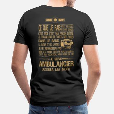 Ambulancier Tee Shirt Ambulancier - T-shirt premium Homme