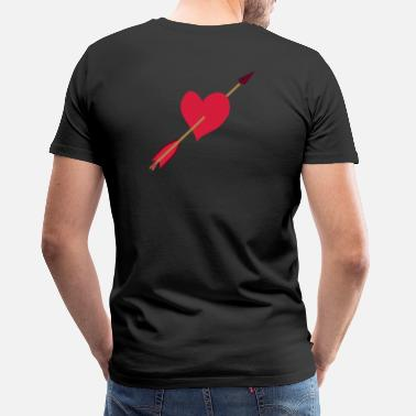 Love Struck Love struck design by patjila - Men's Premium T-Shirt