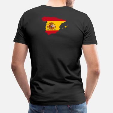 Spain Spain is enthroned on its back - Men's Premium T-Shirt