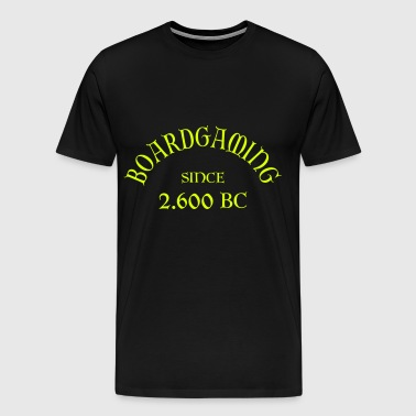 Boardgaming since 2600 BC - Männer Premium T-Shirt