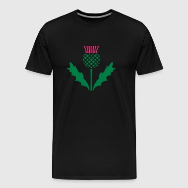 Scottish Thistle - Men's Premium T-Shirt