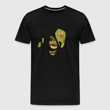 Zombie Pop-Up - Men's Premium T-Shirt
