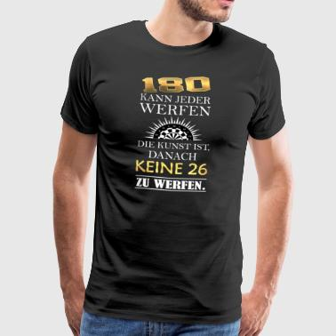 180 anyone can throw ... - Men's Premium T-Shirt