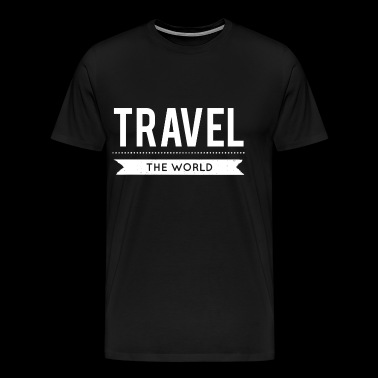 Travel the World - Men's Premium T-Shirt