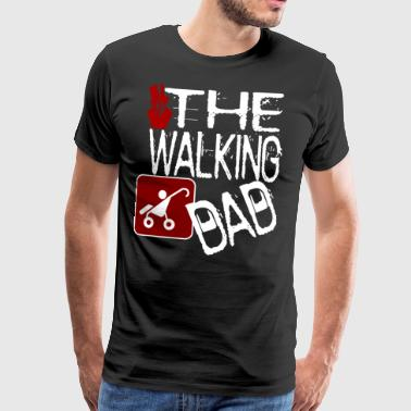 The Walking Dad- Halloween versjon shirt - Premium T-skjorte for menn