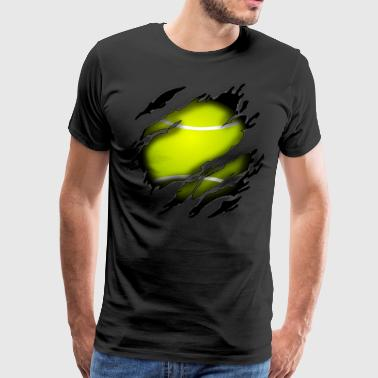 Tennis in mij - Mannen Premium T-shirt