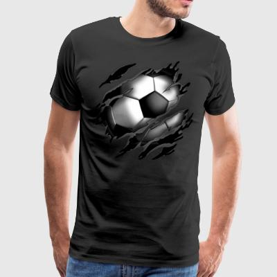 Football in me - Men's Premium T-Shirt