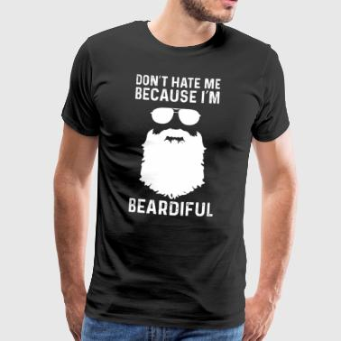 Barbe - barbe - Barbe - Cadeau - T-shirt Premium Homme