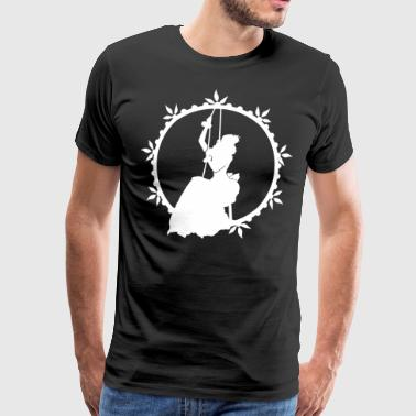 The lady and the rope - Men's Premium T-Shirt