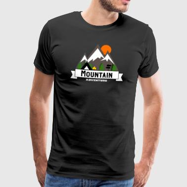 Outdoor Adventures Hiking Hiking Mountain Mountain - Men's Premium T-Shirt