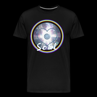 Soul Power-pictogram - Mannen Premium T-shirt